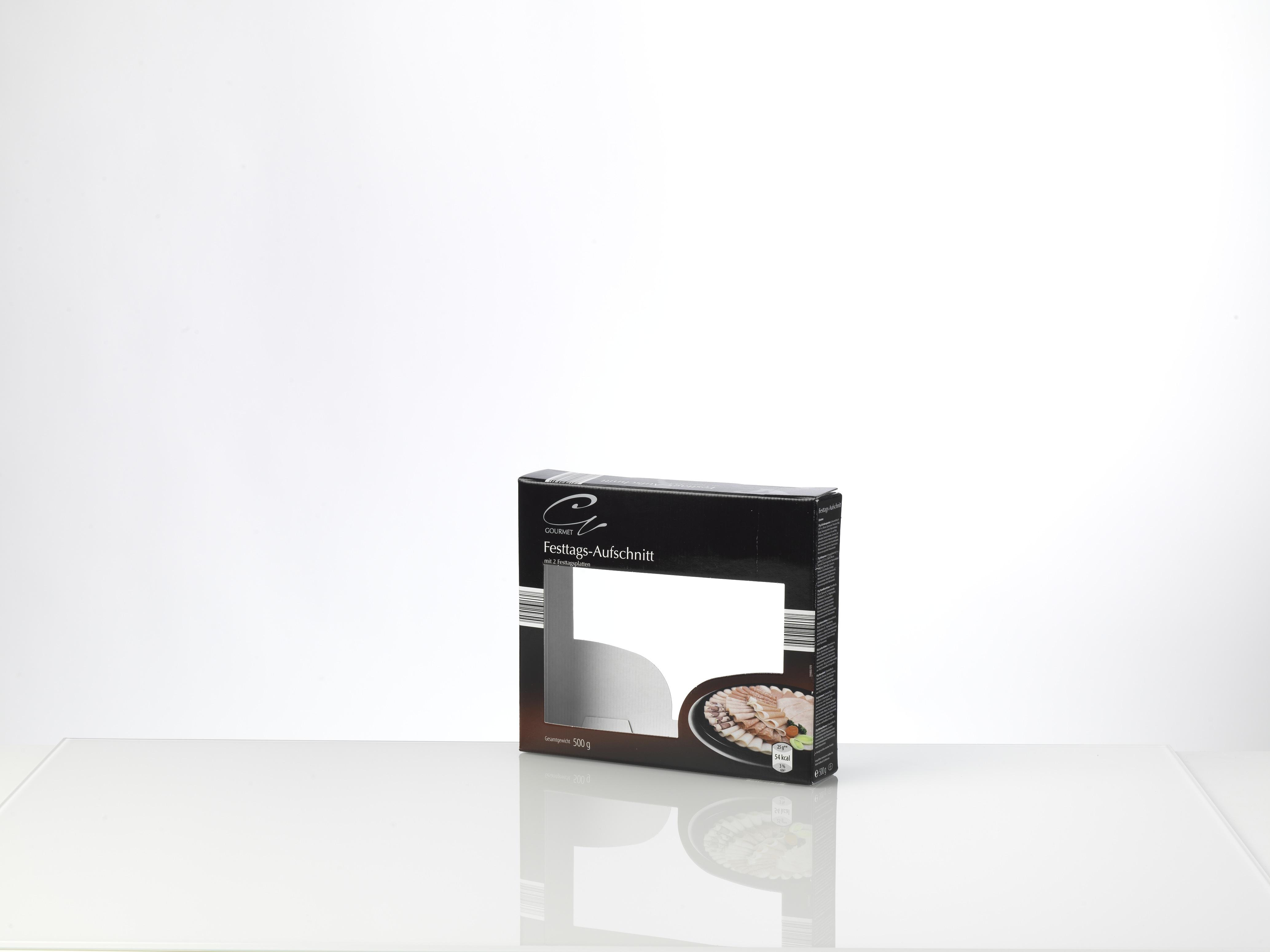 Kartonverpackung mit Sichtfenster