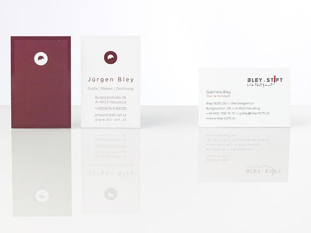 Bley-Stift - Visitenkarten