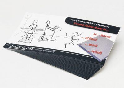 Illustration Bodyfit-Übungen