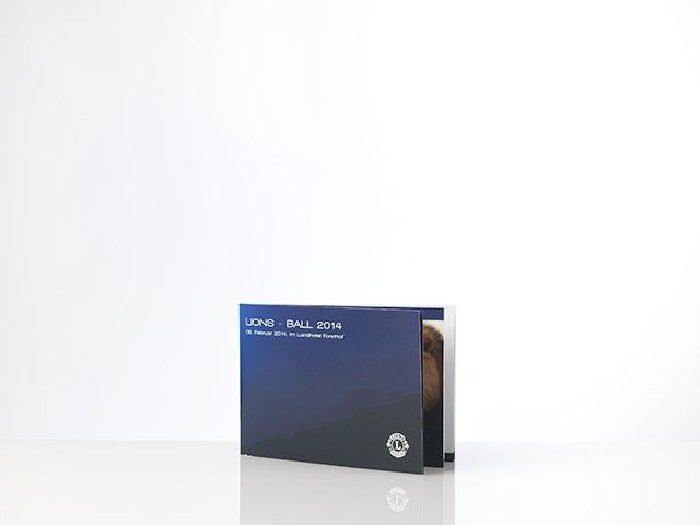Bley-Stift - Druck Einladung Lions-Ball